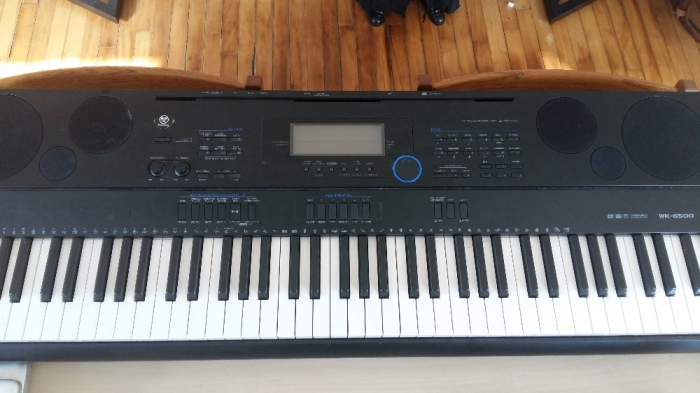 casio wk 6500 keyboard music buy and sell city of ottawa. Black Bedroom Furniture Sets. Home Design Ideas