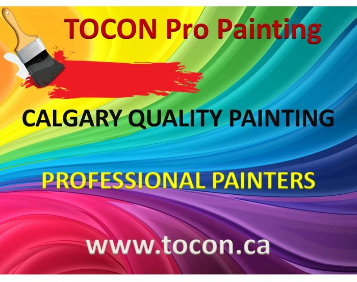 Tocon Pro Painters Calgary Cheap Fast Professional