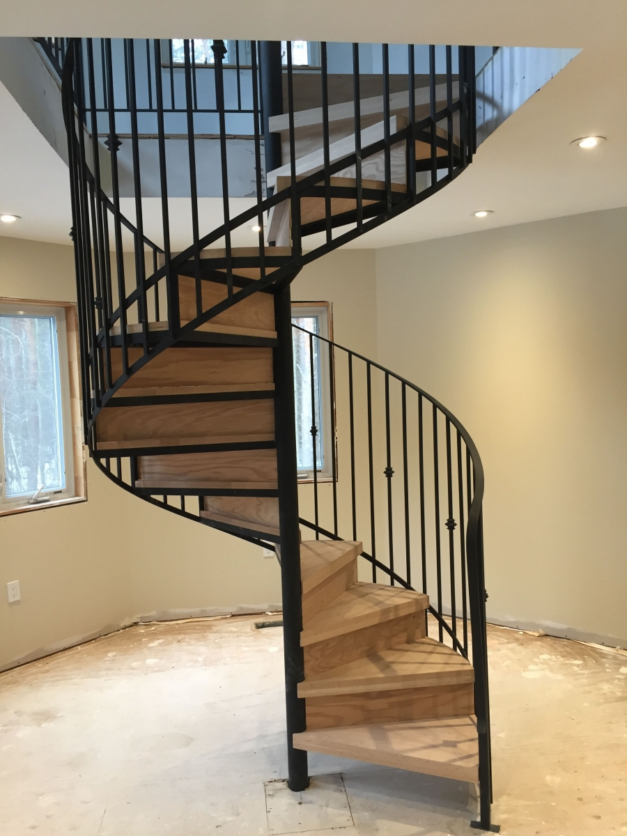 Service Metal Fabrication Toronto : Metal stairs custom fabricators services