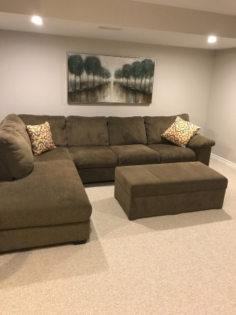 Like New Sectional The Brick Furniture Buy And Sell