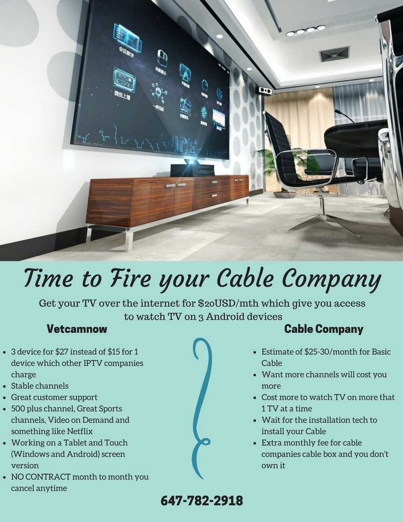 Time To Fire Your Cable Company Services Greater