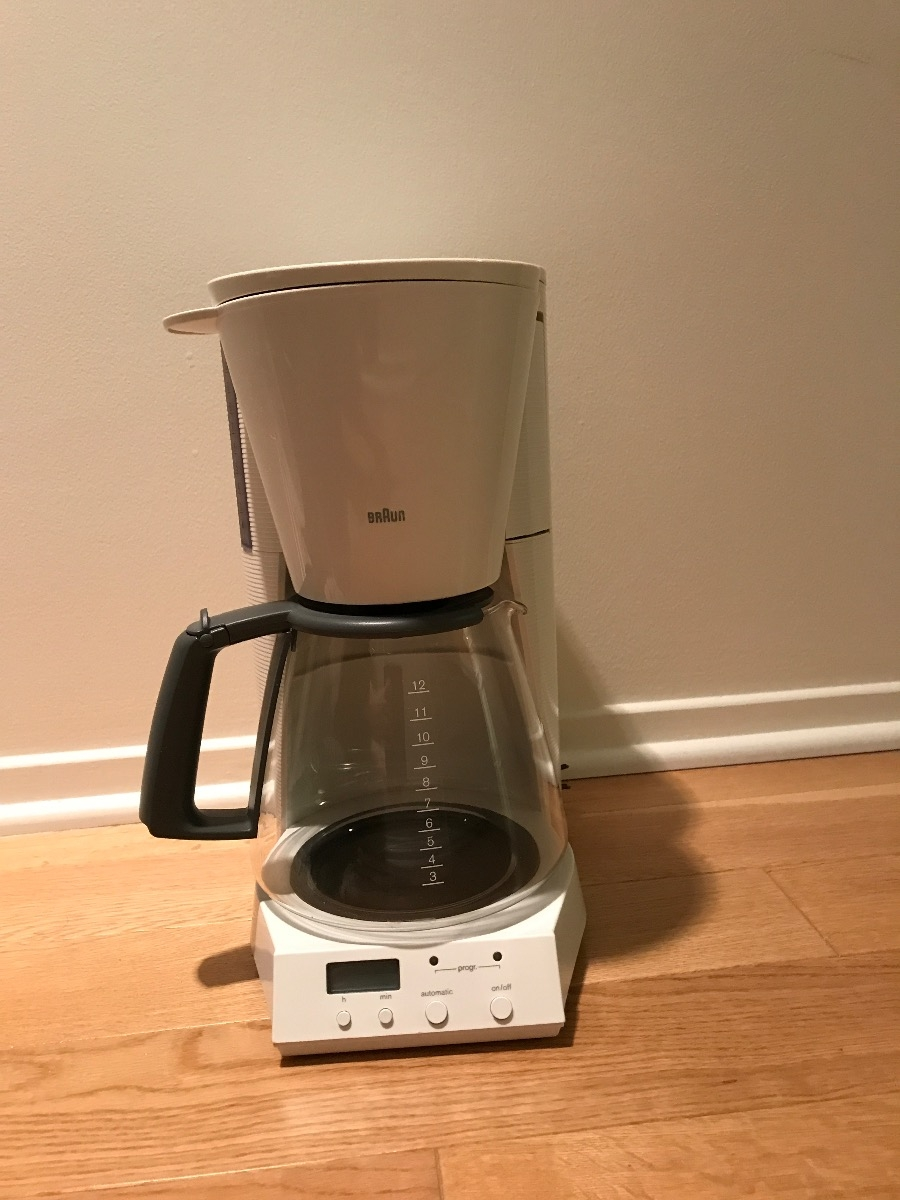 Genio Coffee Maker Glass : Braun Coffee maker with glass jug Model Coffee maker / Appliances / Buy and sell / City Of ...