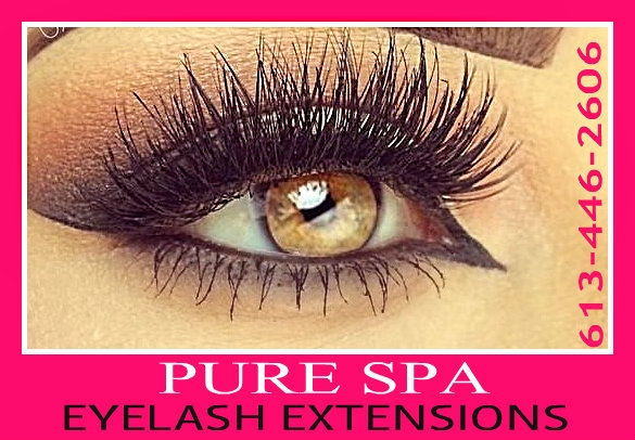 65$ Eyelashes Extensions , Rockland - Orleans PURE SPA / Beauty ...
