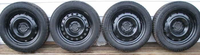 Goodyear Nordic Winter Tire >> Winter Tires 205 55r16 Michelin X Ice I3 And Goodyear Nordic