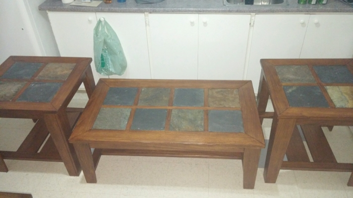 Beautiful coffee table and end tables set furniture for Coffee tables ottawa