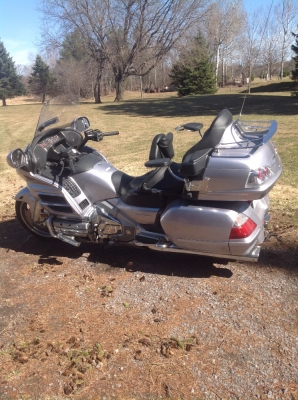 2009 Honda Goldwing GL 1800 on