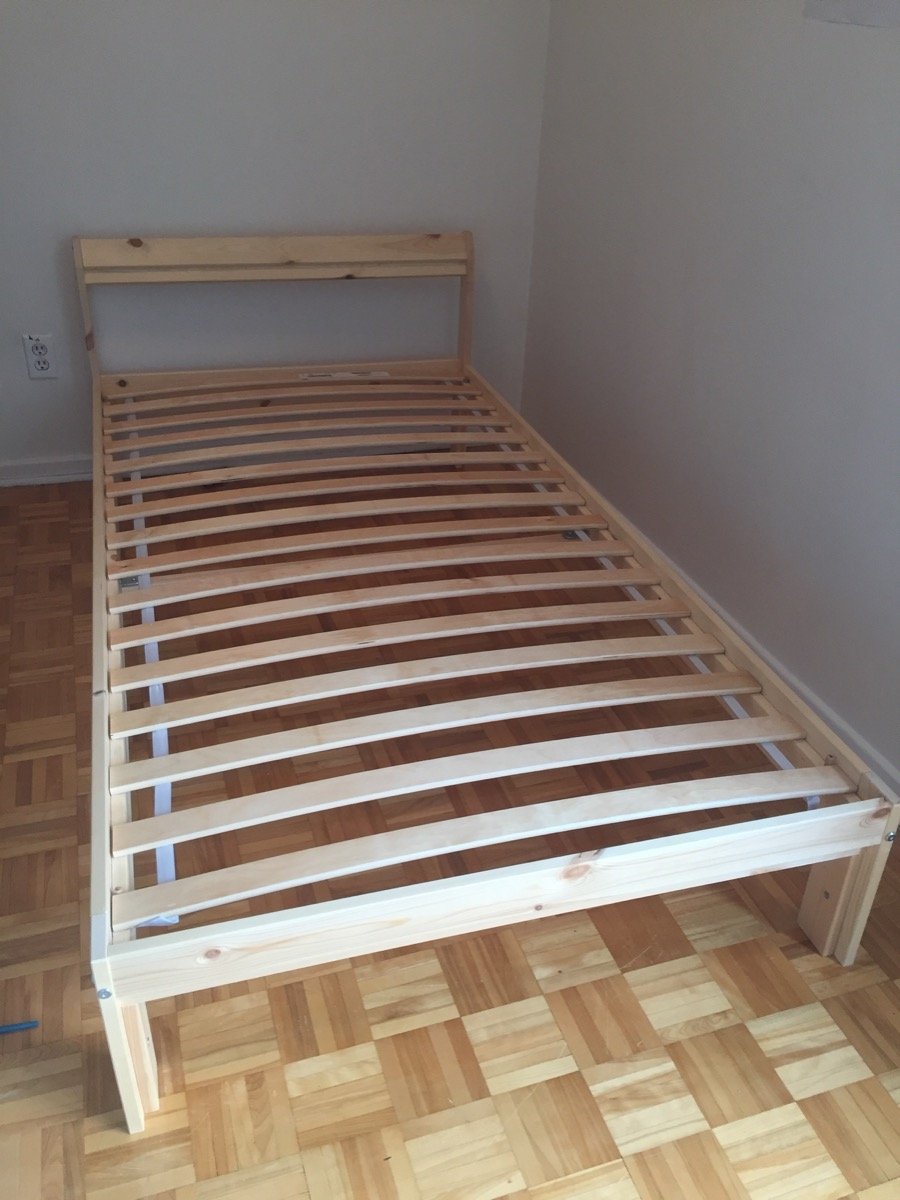 Ikea Twin Neiden Bed Frame And Slats Furniture Buy And