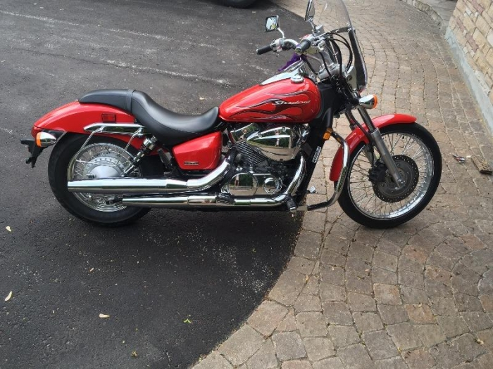 Selling My Honda Shadow Spirit Because I Purchased Another Bike. This Bike  Is In Excellent Condition, Has A Brand New Battery That Was Kept Inside  During ...
