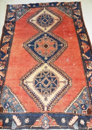 Persian Rug Wool 4x6ft Handmade Home And Garden Buy